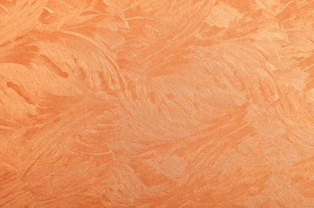 glittery: Glittery and textured copper metallic paper background