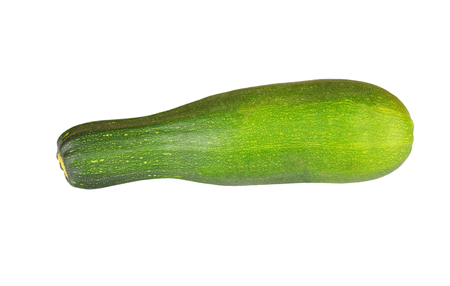vegetable marrow: Vegetable marrow (zucchini), isolated on white background