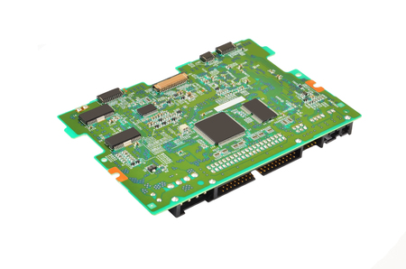 Printed computer circuit board from DVD drive