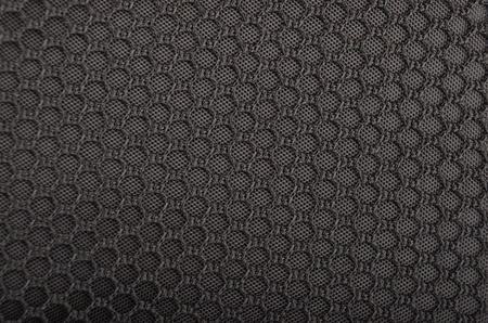 polythene: Close up of black textured synthetical background Stock Photo