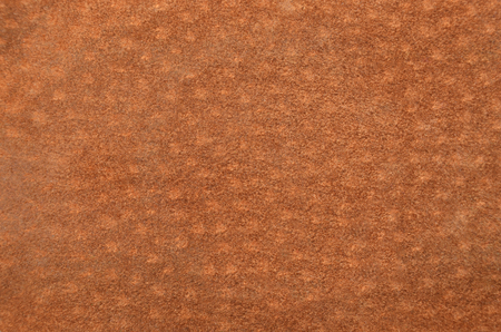 Close up of natural brown suede leather background Reklamní fotografie