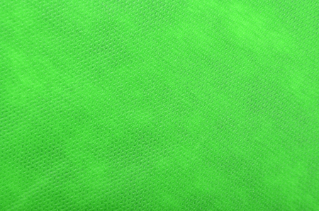 Close up of green textured synthetical background Stock Photo