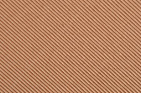 Close up of brown crinkled cardboard background