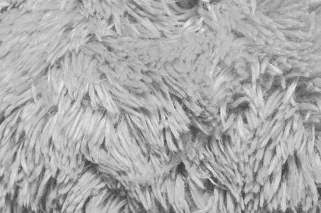 furskin: Close up of brown synthetical fur textured background