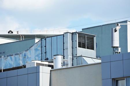 metal grate: Industrial steel air conditioning and ventilation systems