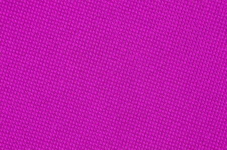 Close up of magenta textured synthetical background Stock Photo