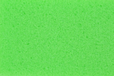 Spongy foamed rubber, close up as background