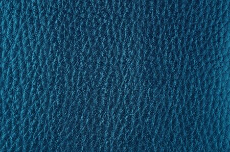 Close up of natural blue leather background Stockfoto