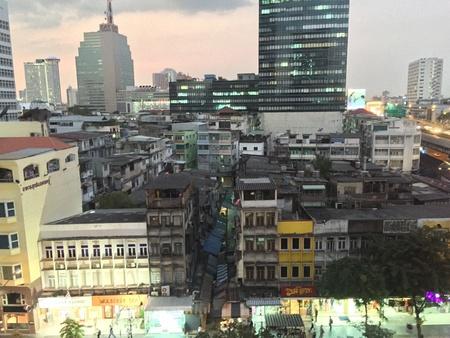 bangrak: Townhouse shops buildings in Bangrak Thailand