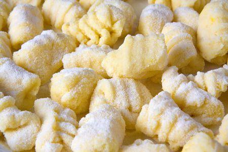 Pastas Italianas Noquis Fondo de Pasta Italiana