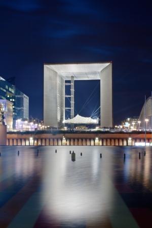 grande: Paris, France - La Grande Arche de la Defense Editorial