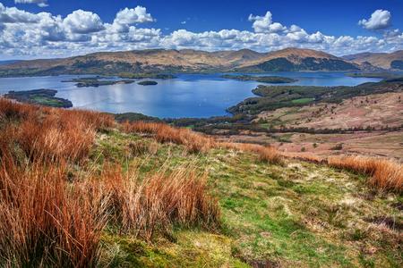 loch: Scotland: beautiful natural landscape