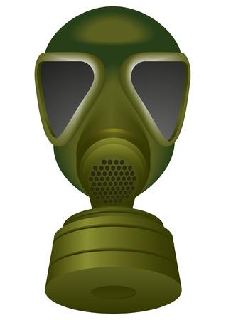 army gas mask: una m�scara de gas