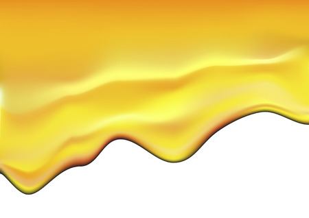 honeyed: vector illustration of dropping honey