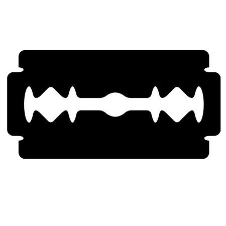 illustration of a razor's edge Stock Vector - 8176697