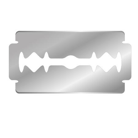 illustration of a razor's edge Stock Vector - 8176698