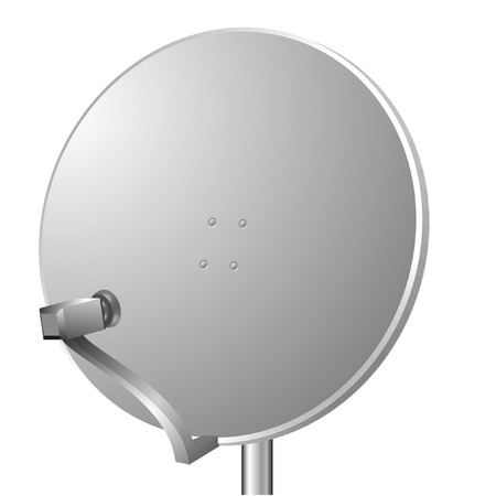 vector illustration of a sattelite dish Vector