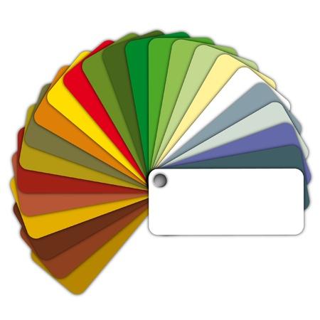 color image creativity: Ilustraci�n de una gu�a de color Foto de archivo