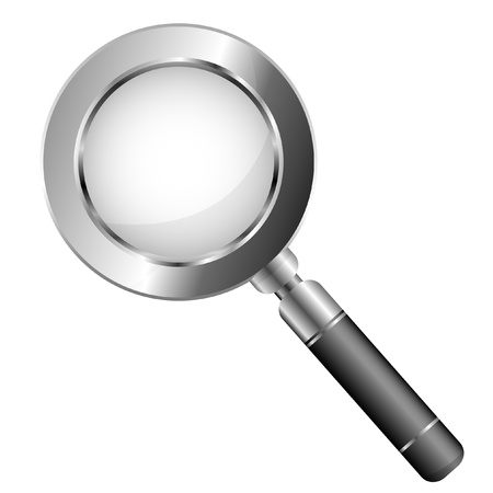 illustration of a magnifier Stock Vector - 9187973