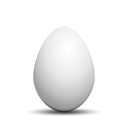 eggshells: illustration of an egg