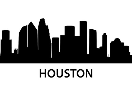 houston: detailed illustration of Houston, Texas