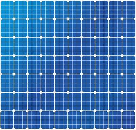 photovoltaic: illustration of a solar cell pattern