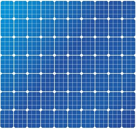 PLACAS SOLARES: Ilustración de un patrón de celdas solares
