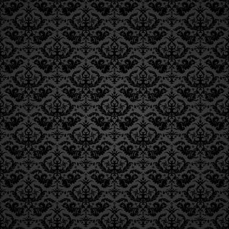 background illustration of a damask pattern, eps 8 vector Vector