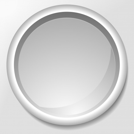 detailed illustration of an abstract grey circle Stock Vector - 16784385