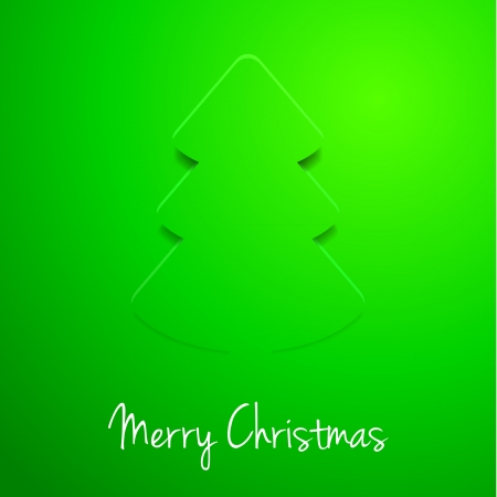 detailed illustration of a modern style christmas tree background, eps 10 vector Vector