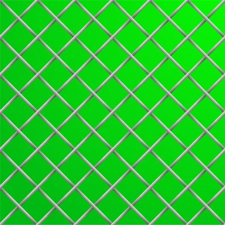 football net: illustration of a seamless soccer net pattern Illustration