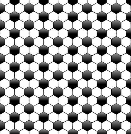 football net: illustration of a seamless soccer pattern Illustration