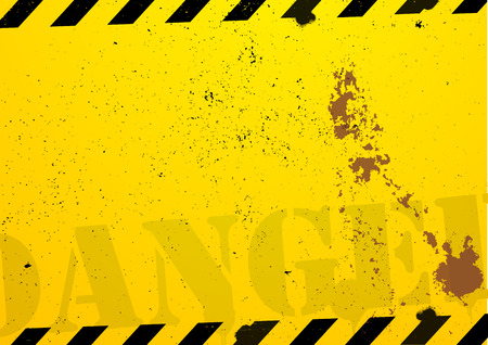 a grunge danger background Vector