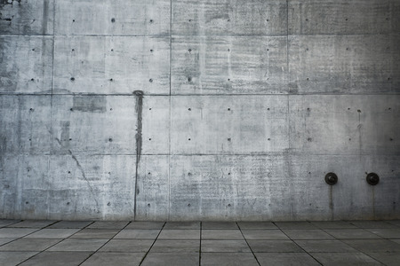photo of an empty tiled concrete background photo