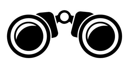 illustration of a binoculars icon