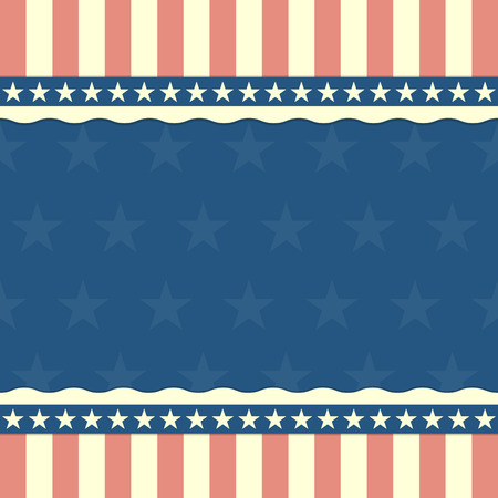 independance: detailed illustration of a patriotic background with stars and stripes