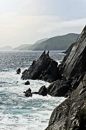 Cliffs of Slea Head, Dingle peninsula, Co. Kerry, Ireland