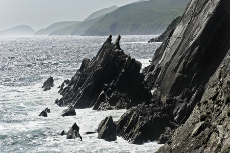 co  kerry: Cliffs of Slea Head, Dingle peninsula, Co. Kerry, Ireland