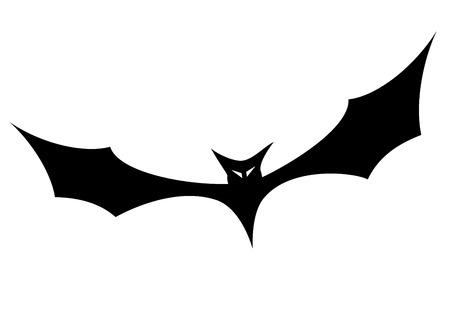 hollows: minimalistic illustration of a bat silhouette