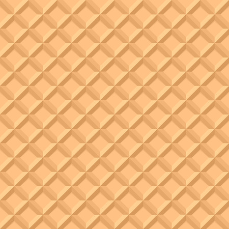 wafer:  illustration of a seamless waffle pattern, eps10 vector