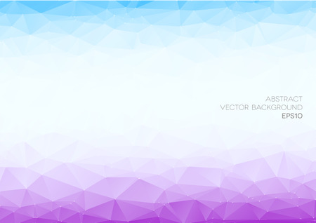 detailed illustration of an abstract polygonal background, eps10 vector Vector
