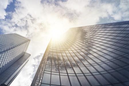 office skyscraper building in Frankfurt am Main, Germany