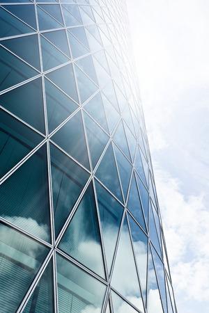 현대 사무실 마천루 프랑크푸르트 암 마인, 독일에서 건물 스톡 콘텐츠