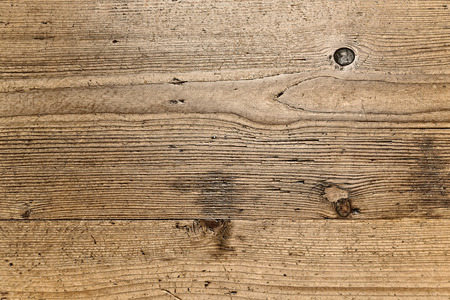 vintage timber: old weathered wood panel background Stock Photo
