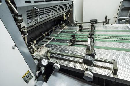prepress: modern sheetfed offset printing machine