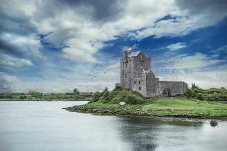 Dunguaire Castle in Co. Galway, Ierland