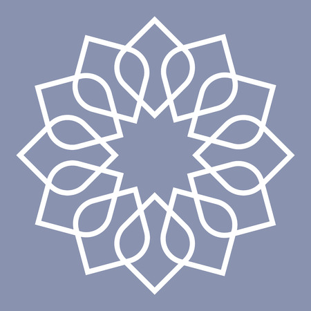 islamic pattern: detailed illustration of an arabic pattern, eps10 vector
