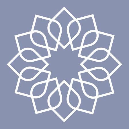 arabisch patroon: gedetailleerde illustratie van een Arabische patroon, eps10 vector Stock Illustratie