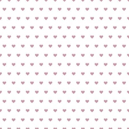 Illustration eines nahtlosen Herzen Muster, eps10 Vektor