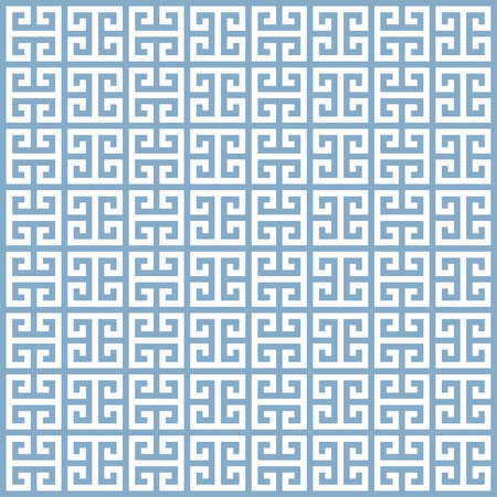 fret: illustration of an ancient greek seamless pattern
